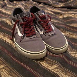 Size 11 Grey Vans